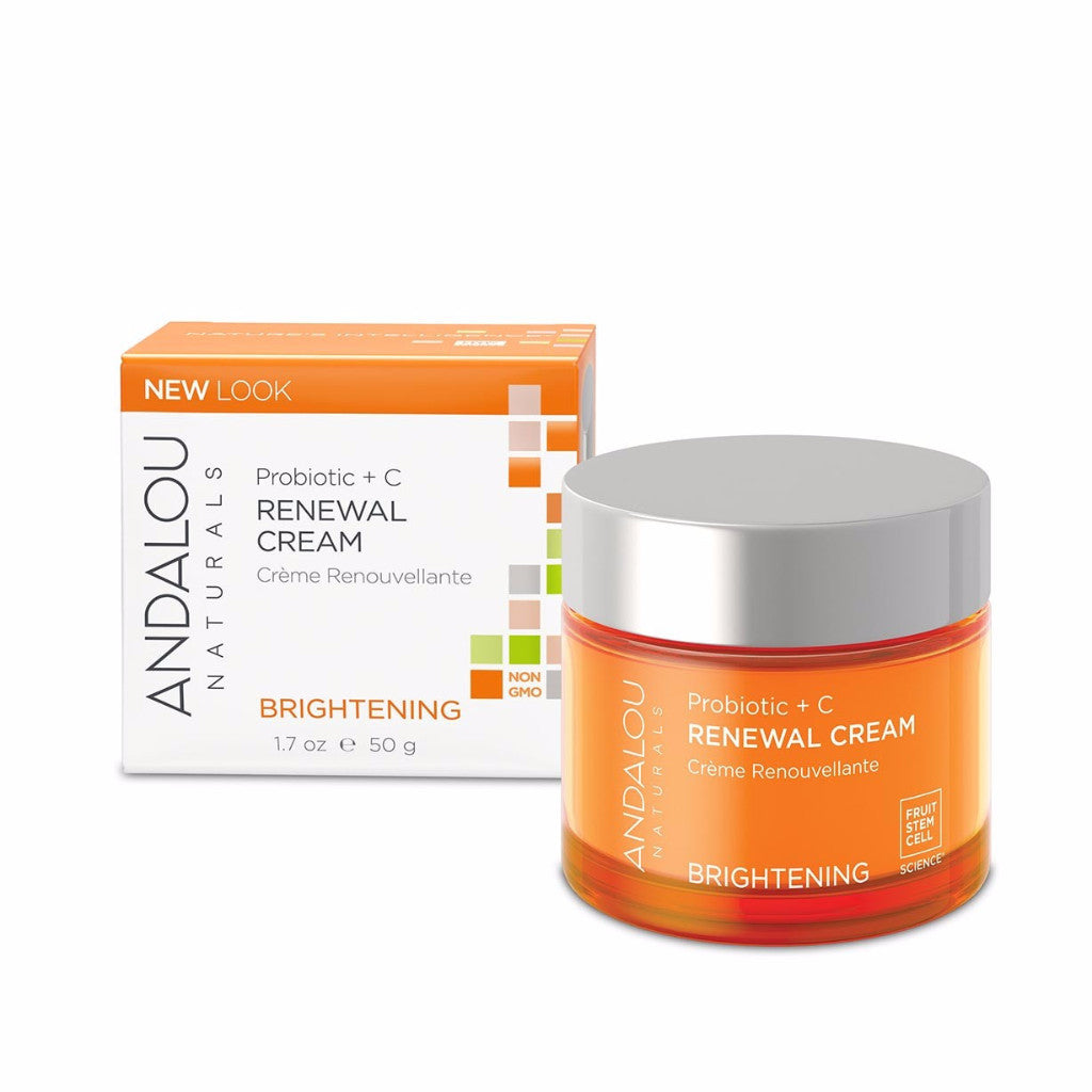 Andalou Naturals - Brightening - Probiotic + C Renewal Cream