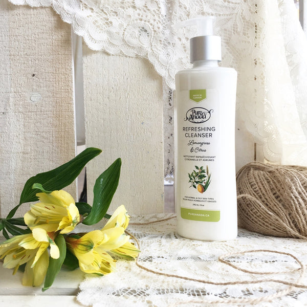 Pure Anada - Lemongrass & Citrus Refreshing Cleanser