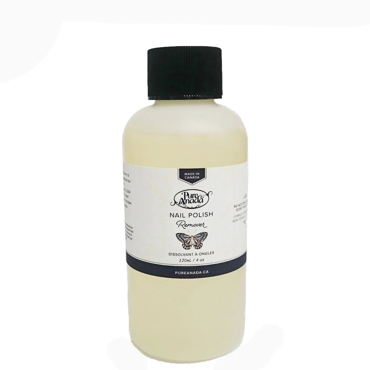 Pure Anada - Soy Nail Polish Remover All Things Being ECo Chilliwack