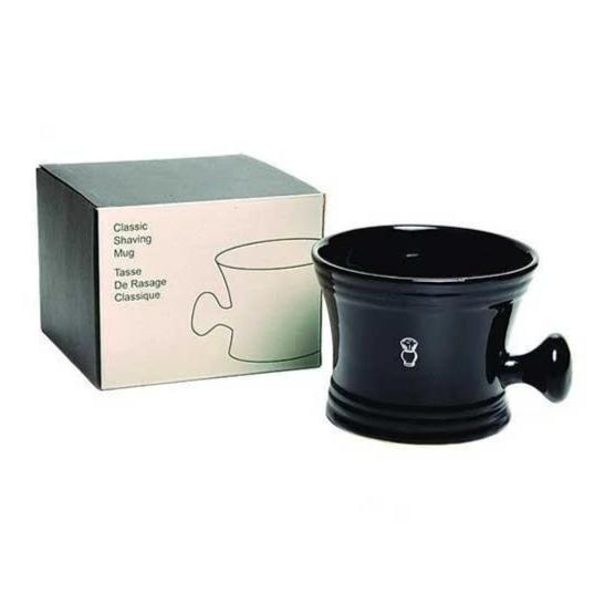 PureBadger - Classic Ceramic Shaving Mug with Handle
