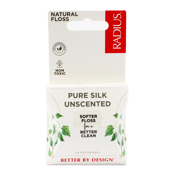Radius - Pure Silk Unscented Dental Floss