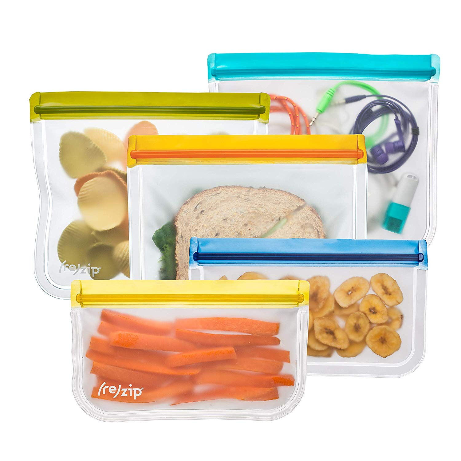 (re)zip - Lay Flat Lunch & Snack Bag Kit