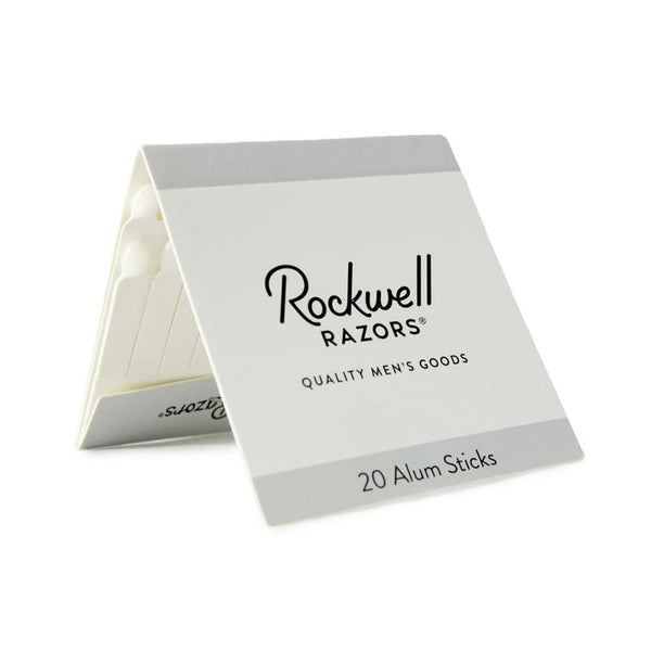 Rockwell Razors - Pack of 20 Alum Sticks All Things Being Eco CHilliwack