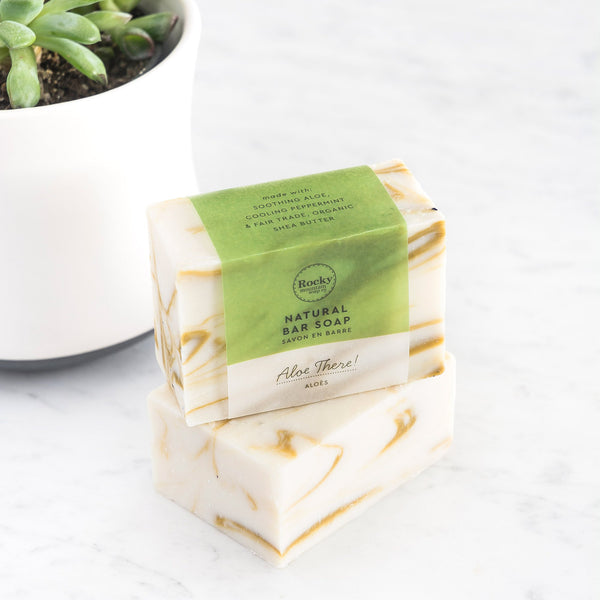 Rocky Mountain Soap Company - Aloe There Soap