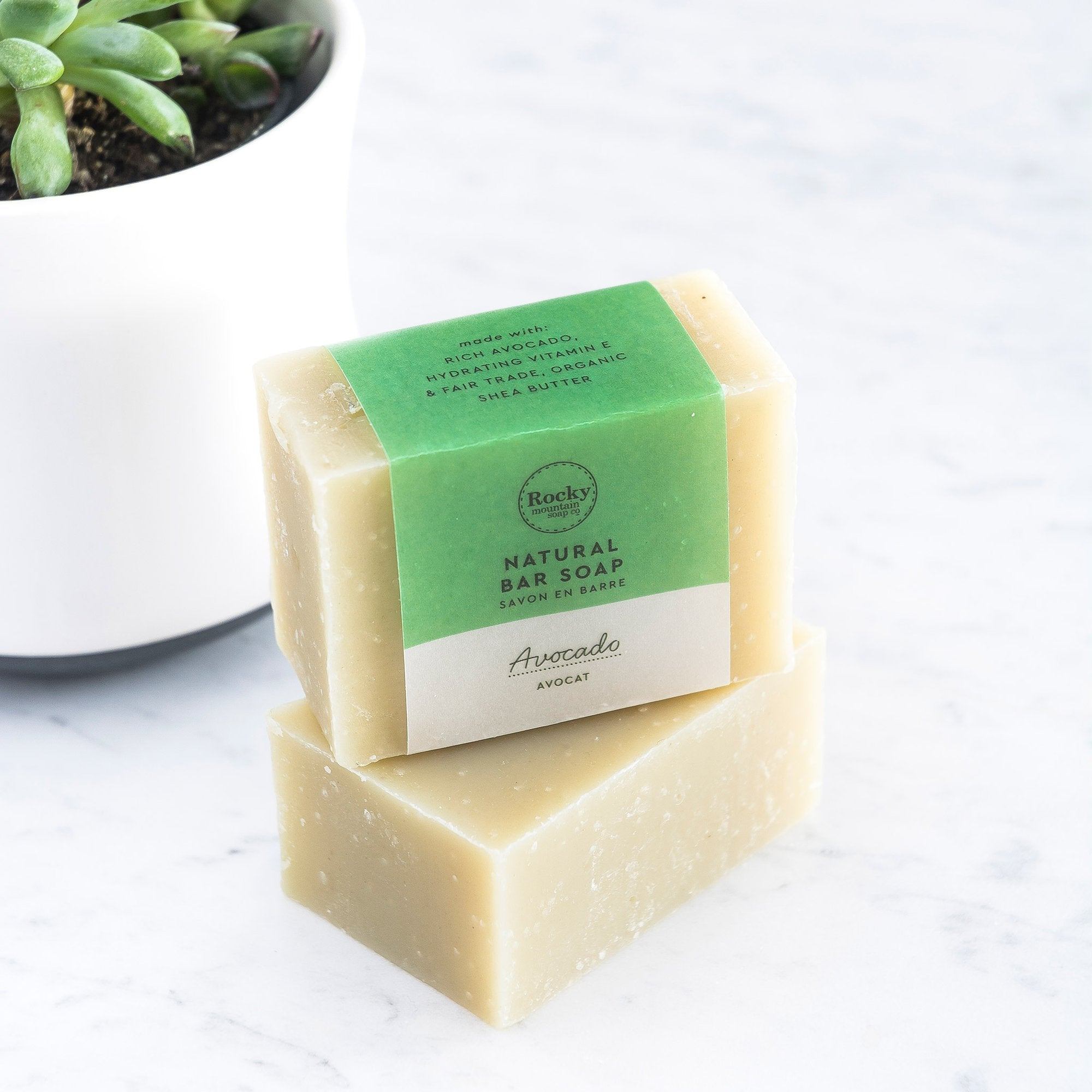 Rocky Mountain Soap Company - Avocado Facial Bar