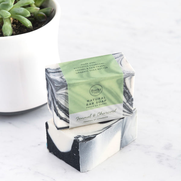 Rocky Mountain Soap Company - Fennel & Charcoal Soap