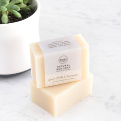 Rocky Mountain Soap Company - Goat's Milk with Lavender Soap