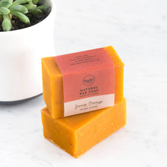 Rocky Mountain Soap Company - Juicy Orange Facial Bar