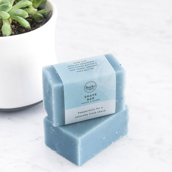 Rocky Mountain Soap Company - Peppermint Shave Soap