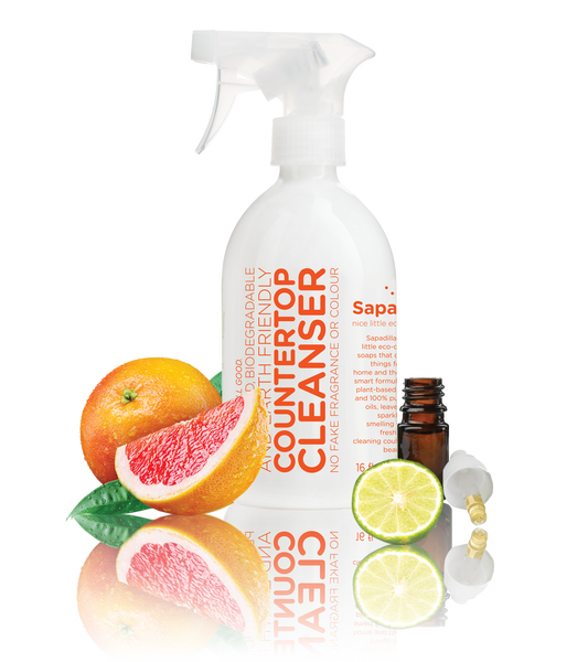 Sapadilla - Countertop Cleanser Grapefruit + Bergamot All Things Being Eco Chilliwack Zero Waste Refillery