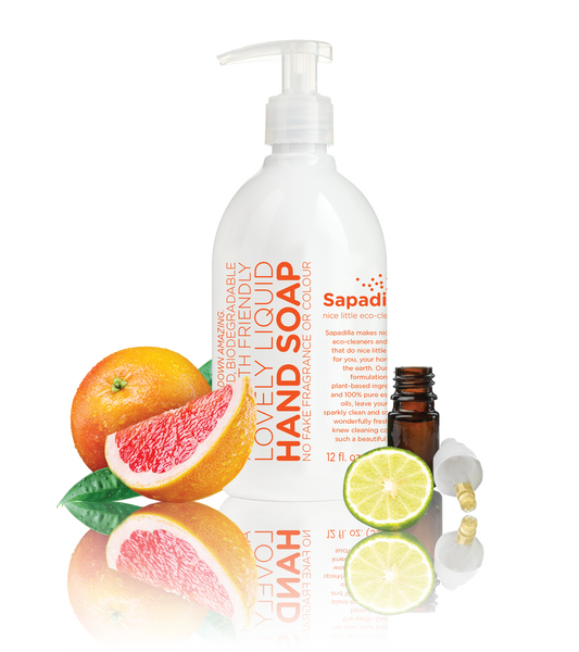 Sapadilla - Liquid Hand Soap Grapefruit + Bergamot All Things Being Eco Chilliwack Zero Waste Refillery