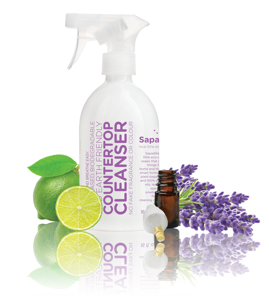 Sapadilla - Countertop Cleanser Sweet Lavender + Lime All Things Being Eco Chilliwack Zero Waste Refillery