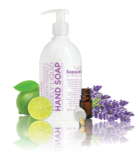 Sapadilla - Liquid Hand Soap Sweet Lavender + Lime All Things Being Eco Chilliwack Zero Waste Refillery
