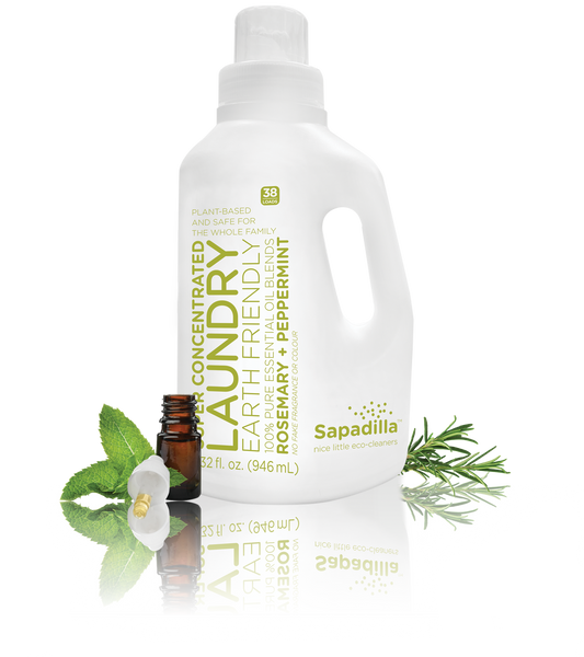 Sapadilla - Laundry Liquid Rosemary + Peppermint All Things Being Eco Chilliwack Zero Waste Refillery
