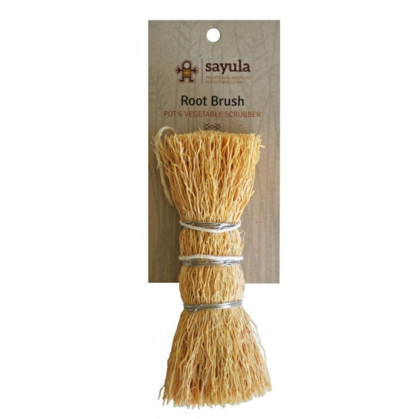 Sayula - Root Brush Dish Scrubber Fair Trade Eco Friendly