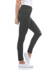 Second Yoga Jeans - Classic Rise Rachel Skinny in Black Icon Canadian Made Eco Friendly Denim All Things Being Eco Chilliwack