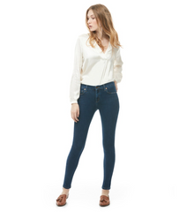 Second Yoga Jeans - Classic Rachel Rise Skinny in Athena All Things Being Eco Chilliwack Natural Women's Clothing