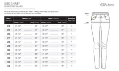 Second Yoga Jeans - Classic Rise Rachel Skinny in Desirade All Things Being Eco Chilliwack Size Chart