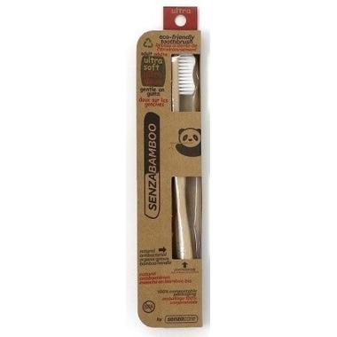 SenzaBamboo - Adult Ultra Soft Toothbrush All Things Being eco Chilliwack Sustainable Living Store