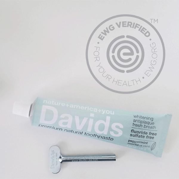 Davids - Premium Natural Toothpaste All Things Being Eco