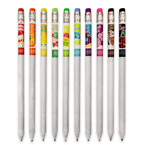 Smencils - Recycled Newspaper Scented Pencils All Things Being Eco Chilliwack