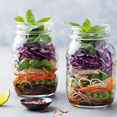 Jarware - 3 in 1 Stainless Steel Wide Mouth Spiralizer All Things Being Eco Chilliwack Zero Waste Living Specialty Store Mason Jar Accessories Salads