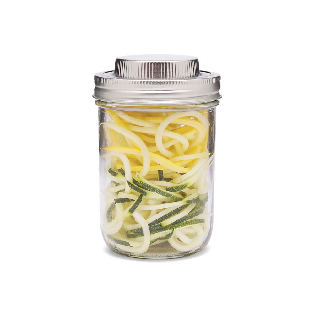 Jarware - 3 in 1 Stainless Steel Wide Mouth Spiralizer