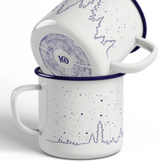 tentree - Enamel Juniper Camp Mug