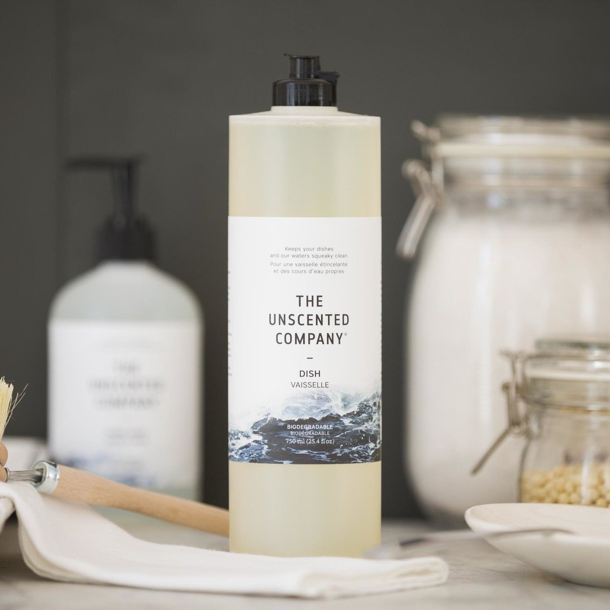 The Unscented Company - Dish Soap All Things Being Eco Zero Waste Refillery Chilliwack
