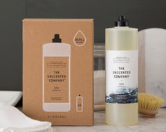 The Unscented Company - Dish Soap All Things Being Eco Zero Waste Refillery Chilliwack Refillable Dish Soap