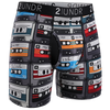 2UNDR - Printed Swing Shift Boxer Throw Back