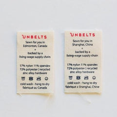 Unbelts - Intrepid Performance Stretch Belt Made In Canada All Things Being Eco