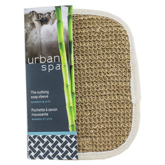 Urban Spa - The Sudsing Soap Sleeve Bamboo