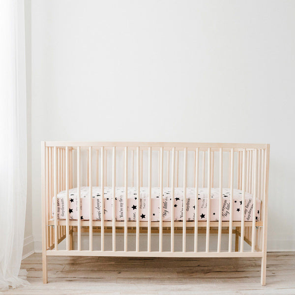 Wee Urban Organic Cotton Crib Sheets