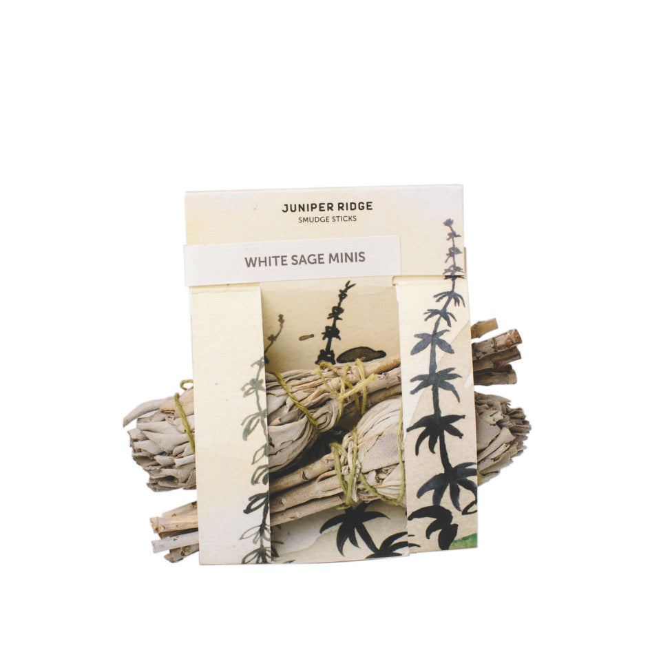 Juniper Ridge - Sustainable White Sage Mini Bundle Smudge Sticks All Things Being Eco