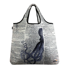 YaYbag Novelty - Reusable Shopping Bag All Things Being Eco Chilliwack Zero Waste Living Store Half Kraken