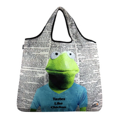 YaYbag Novelty - Reusable Shopping Bag All Things Being Eco Chilliwack Zero Waste Living Store Kermit