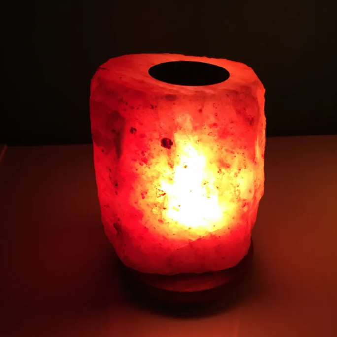 Zen Natural Wellness - Himalayan Essential Oil Diffuser Salt Lamp