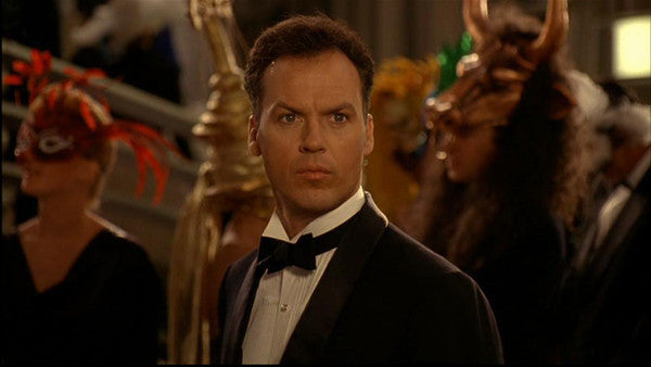 Michael Keaton as Batman/Bruce Wayne