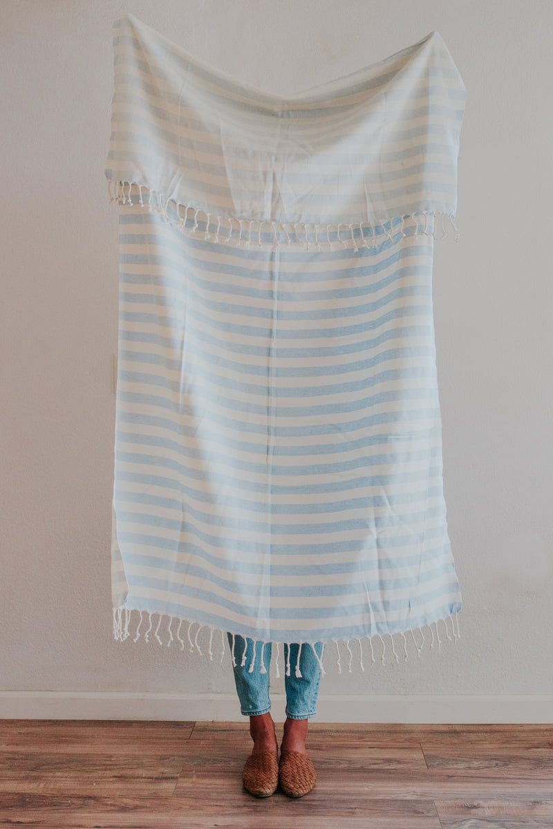 Ulla Towel | Baby Blue