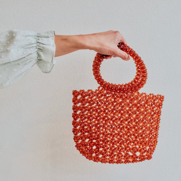 Alma Beaded Bag