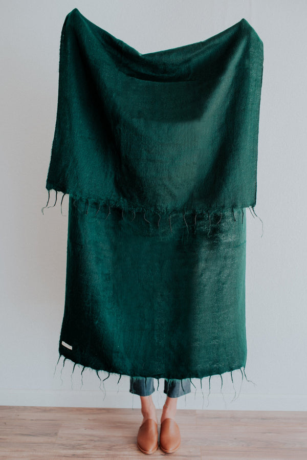 Hobo & Hatch Scarf | Emerald