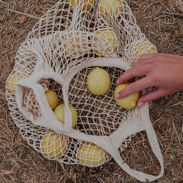 Net Tote Bag | Short Handle