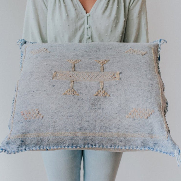 Sabra Pillow | Chambray
