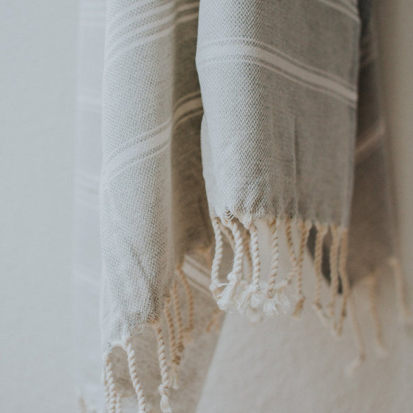 Thea Towel | Dove Grey