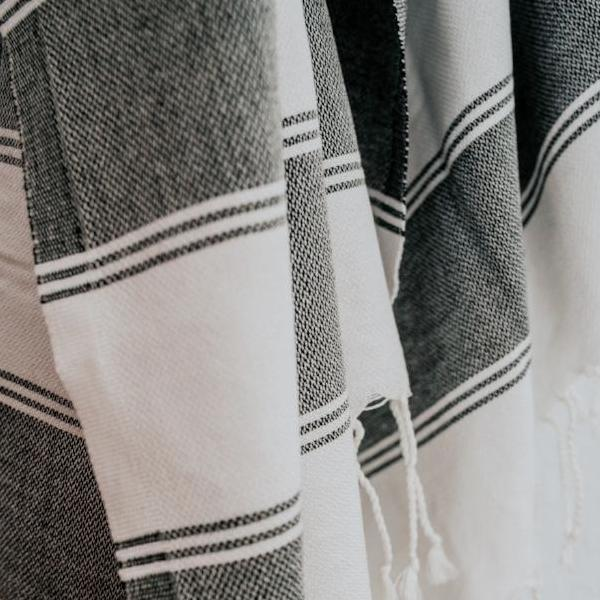 Crafted from the highest-quality cotton, Turkish towels are ultra-absorbent, lightweight, quick to dry, and make a great alternative to standard towels.