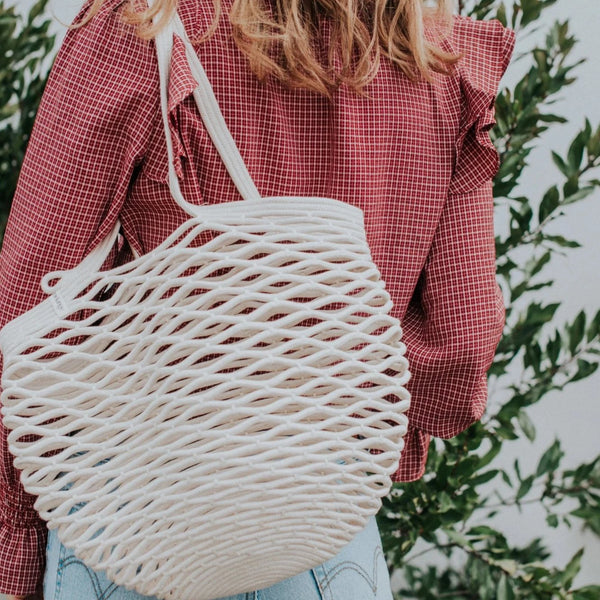Cotton Rope Net Bag | Natural