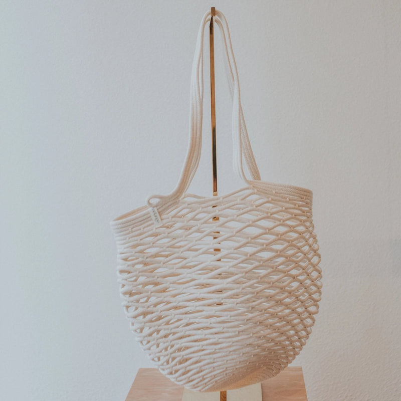 Luna Cotton Rope Tote | Natural