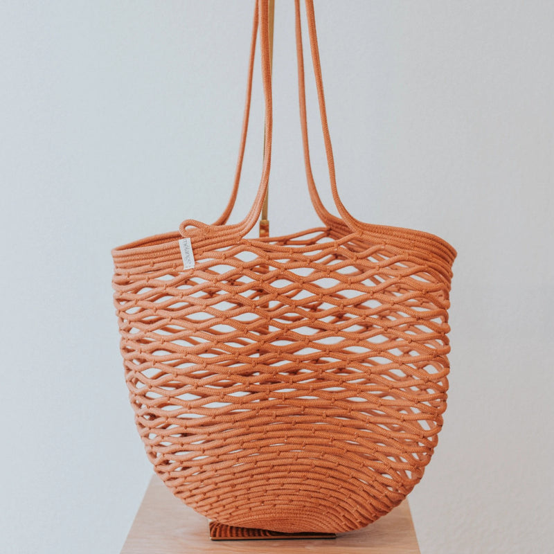 Cotton Rope Net Bag | Nutmeg