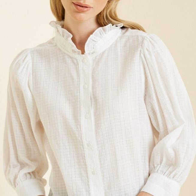 White-Peasant-Blouse-Cute-Summer-Spring